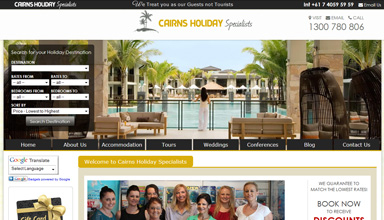 Cairns Holiday Specialists Accommodation